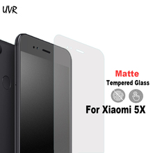 UVR For Xiaomi Mi 5X A1 Matte Anti Glare No Fingerprints Frosted Tempered Glass 2.5D Screen