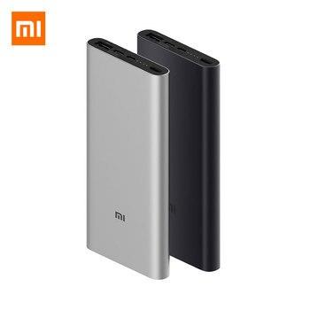 New Xiaomi Power Bank 3 10000mAh Two-way Quick Charge Type C QC 3.0 Fast Charging USB-C Dual Input Dual Output Mi Powerbank
