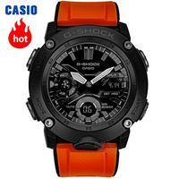 Casio Часы G SHOCK Мужские кварцевые спортивные часы Многофункциональные спортивные водонепроницаемые часы G SHOCK GA 2000