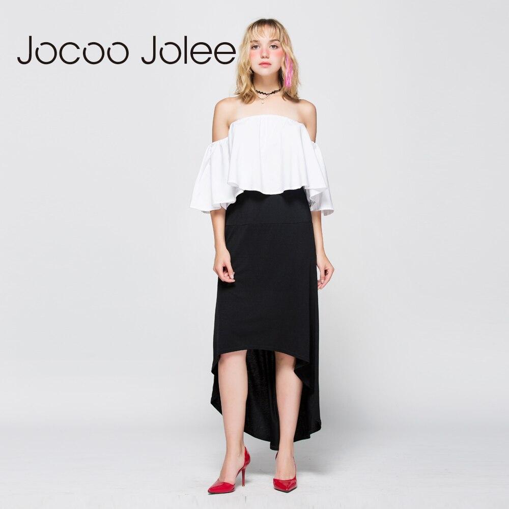Jocoo Jolee Gratë asimetrike pantallona të gjelbërta Bishti i - Veshje për femra - Foto 4