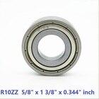 100pcs/lot R10ZZ R10Z double shielded ball bearing 5/8