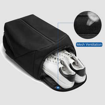 OZUKO Anti Theft Laptop Backpack USB Charging School Bag Men 15.6 Waterproof Backpacks for Teenage Fashion Male Mochila Travel