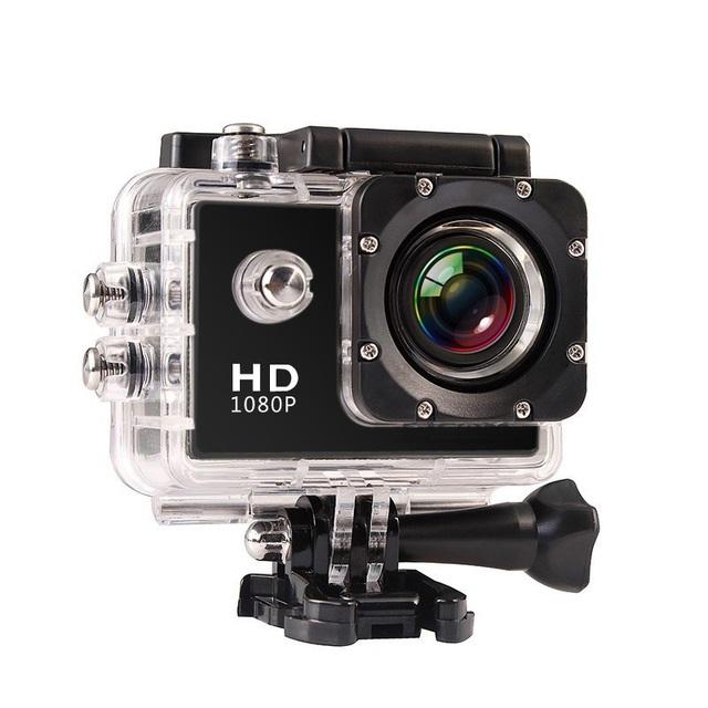 Venda quente Câmera de Ação de 2.0 LCD 1080 P HD Câmera À Prova D' Água 140 de Largura ângulo vyoo a1 marca esporte de ação cam câmera sj 4000 go pro