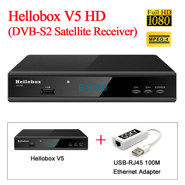 US $38 0 | HELLOBOX V5 global watch wath asia/africa/europe satellite  channels-in Radio & TV Broadcast Equipments from Consumer Electronics on