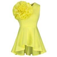 Women Summer Black Blouse Sleeveless Fashion Tanks High Quality Slim Pullovers Falbala Patchwork Plus Size Female
