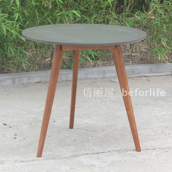 Ikea Style Round Table Of Solid Oak Dining Coffee Legs A Few Cafe Dessert Mahjong In Tables From Furniture On Aliexpress
