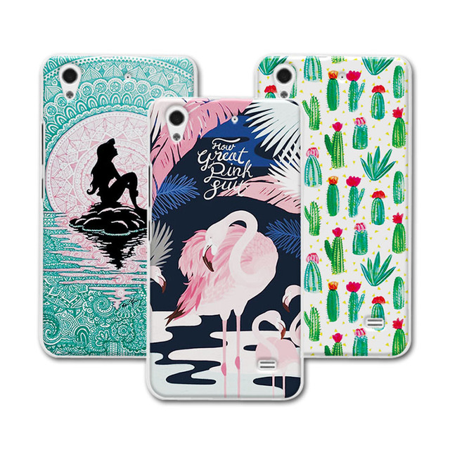 For Huawei G620S Case Cover Mermaid Painting Hard Plastic Case For Huawei Ascend G620S Case Cover For Huawei G620S