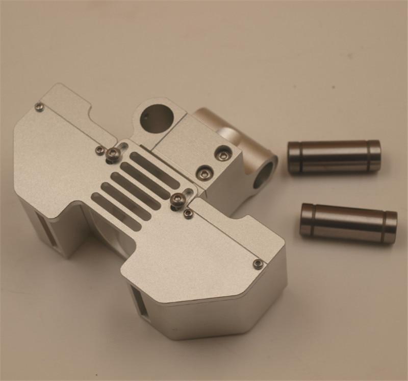 Support V6 jhead et conversion de conduit de ventilateur en Ultimaker2 + tête d'impression 3D en métal support d'extrémité chaude pour shaf lisse 6 MM/8mm