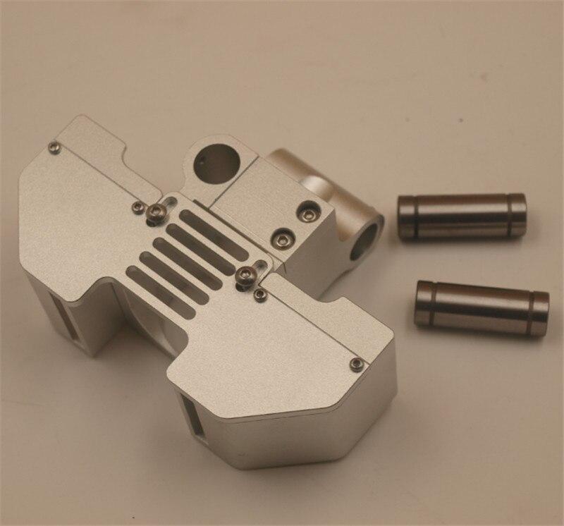 V6 jhead de conversão de montagem e duto do ventilador para Ultimaker2 + de metal da impressora 3D impressão final quente cabeça de montagem Para 6 MM/8mm lisa shaf