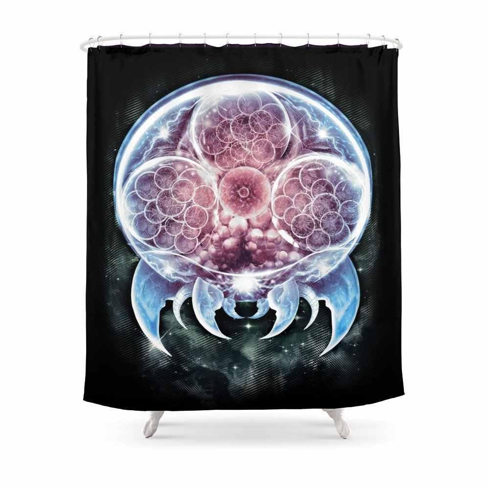 Epic Metroid душевая занавеска из полиэстеровой ткани Ванная комната для домашнего декора водонепроницаемый принт Душ шторы с крючками