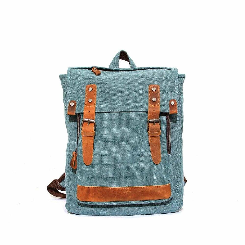 YISHEN Unisex Leisure Backpack Canvas Huge Travel Bag Shoulder Bag Computer Backpacking Men Functional Versatile Bags  MS1027