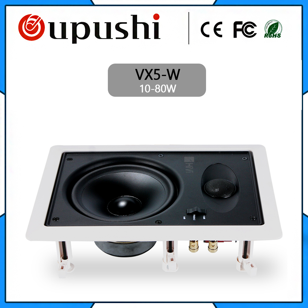 VX5-W A Loudspeaker In A Home Theater A Rectangular Horn Ceiling Speaker Apply To Whole Home Audio Shop Public Place