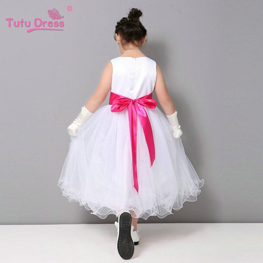 Vestidos de verano para niños para niñas 2-12 años Fiesta de dama - Ropa de ninos - foto 4
