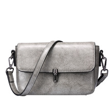 QIANGSHILI Brand Fresh Lolita Style Cute Split Leather Small Flap Crossbody Luxury Handbags Women Bags Designer High Quality