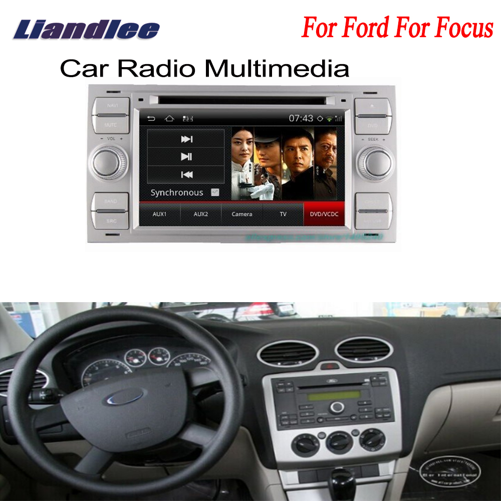 liandlee 2din car android gps for ford for focus 2005 2007. Black Bedroom Furniture Sets. Home Design Ideas