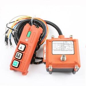 Image 2 - Drahtlose Industrielle Fernbedienung Elektrische Hoist Fernbedienung Wicklung Motor Sandstrahl Schalter Verwendet F21 2S radio schalter