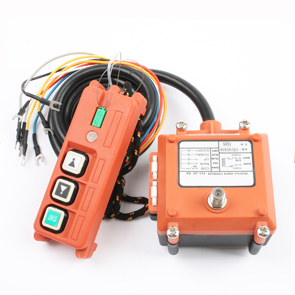 Image 2 - Wireless Industrial Remote Controller Electric Hoist Remote Control Winding Engine Sandblast Switches Used F21 2S-in Switches from Lights & Lighting