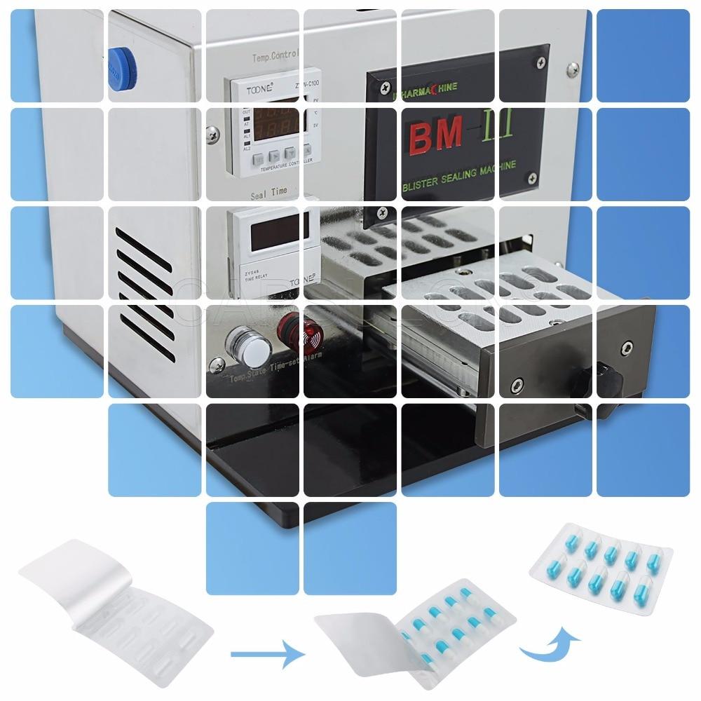 Pro Mini Manual Blister Packaging BM-III Aluminium-Plastic Blister Packaging Machine (110V 60HZ) (Can Support Customize) apecs pdb 20 20 blister