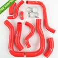 Красный Силиконовый Шланг Радиатора Комплект Для Honda CBR1000RR CB1000R 2008-2011 2009 2010