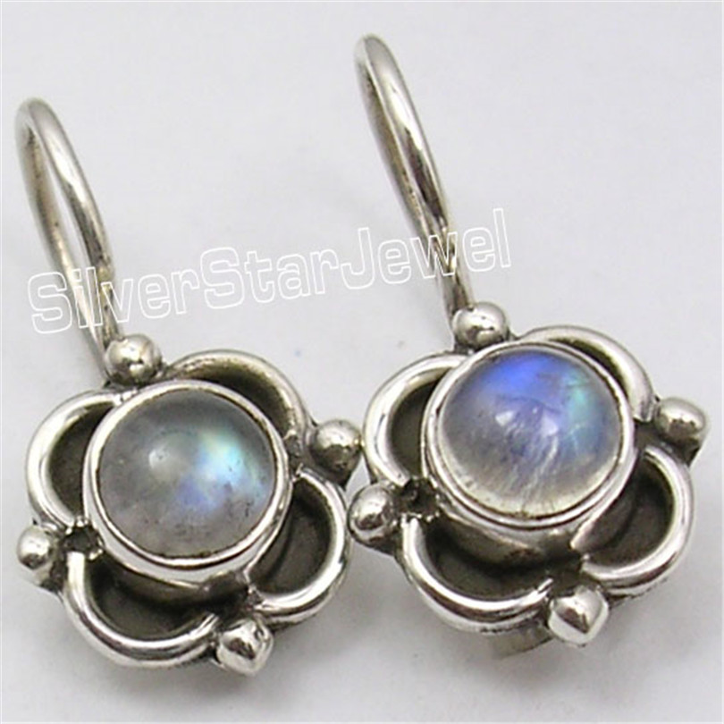 Chanti International Silver WHITE PEARL, MOONSTONE & Other Gem Variation Earrings SEE MORE Variation