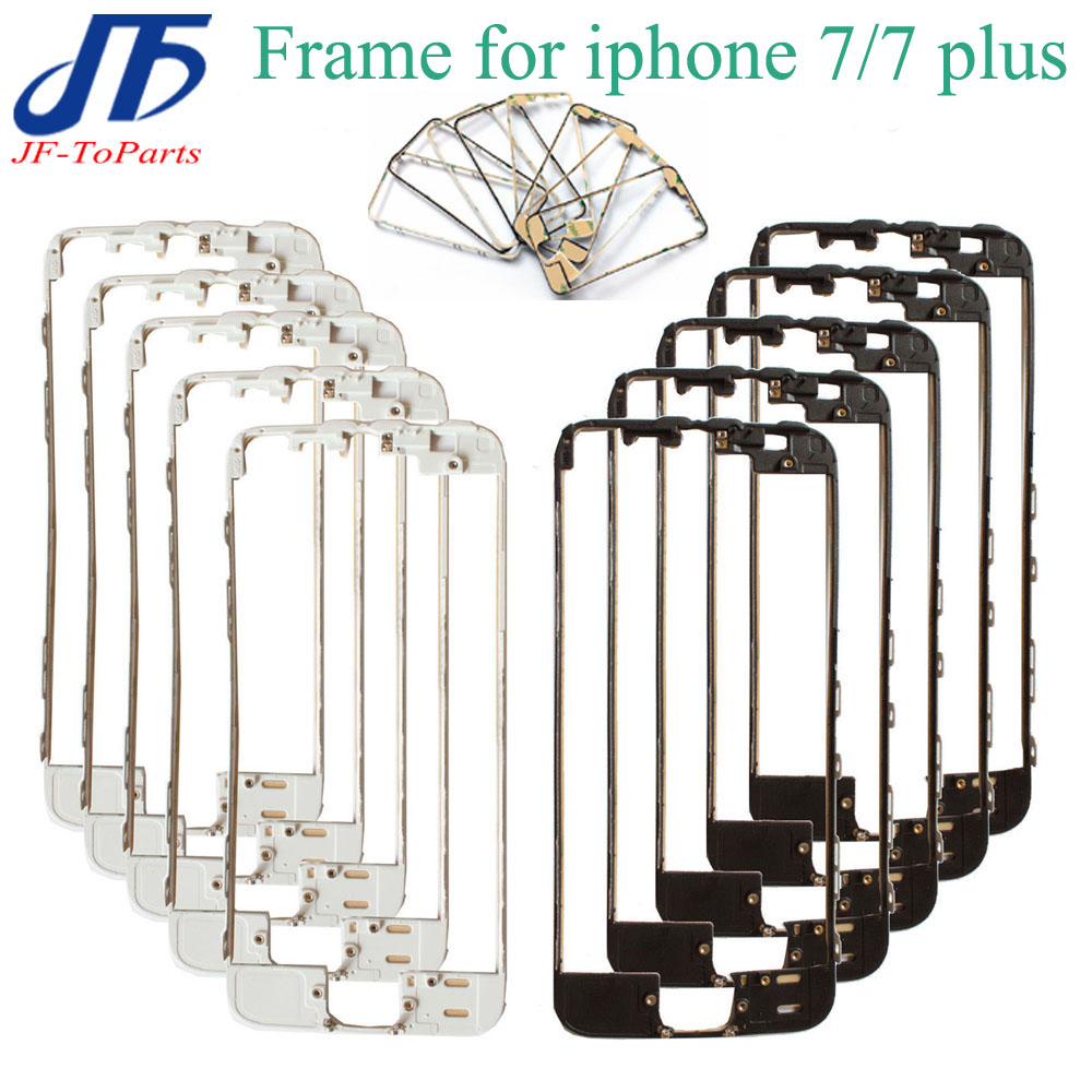 100Pcs For iPhone 7 4.7& 7 plus 5.5 Touch Display Bracket Housing Middle frame Bezel Repair with hot glue