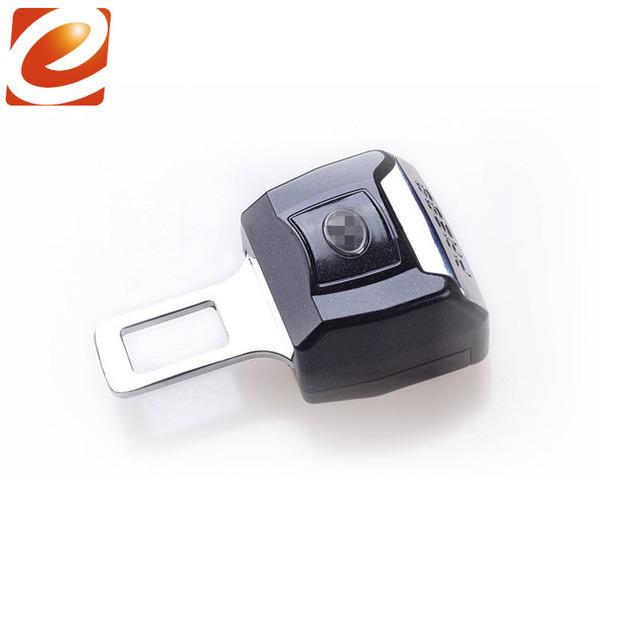 Para Peugeot 206 207 301 306 307 308 407 4007 Carro Fivela de cinto de Segurança Extensão Extender Fecho Inserir Plug Clipe Com Carro logotipo