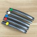 5 colores x20 piezas = 100 piezas SMD 0805 led kit rojo/verde/azul/amarillo/blanco diodo de luz LED envío gratis KIT de