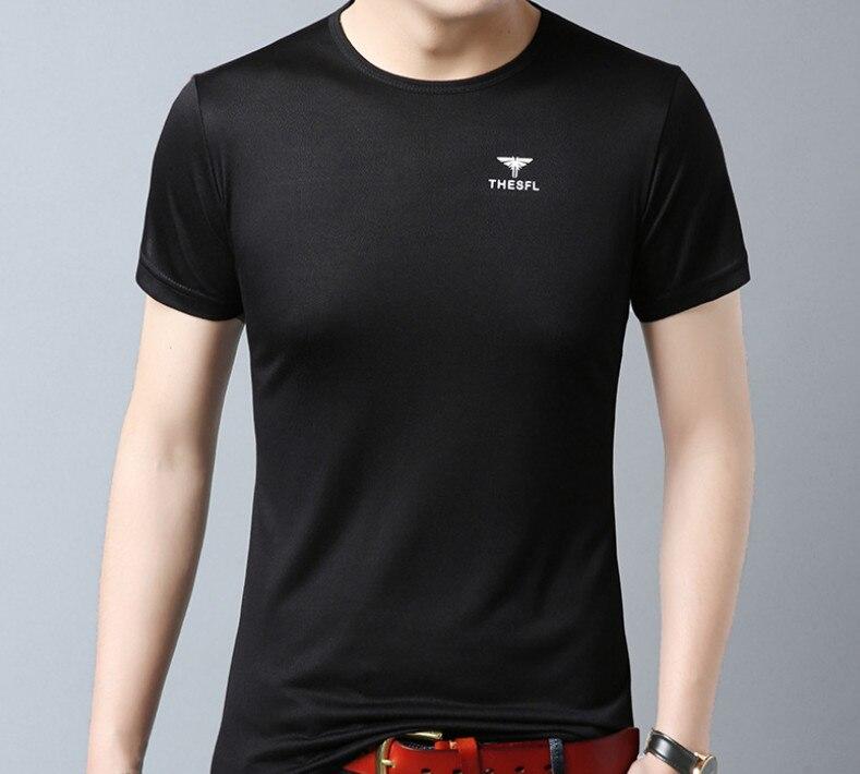 Hommes coton t-shirt décontracté sports de plein air style 2019 explosion modèles offre spéciale style classique #1082