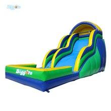 Забавно Лето Водные Игры Надувной Горкой Прыжки Замок Игрушка Для Продажи