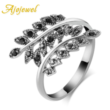 Size 7-9 New Vintage Bijoux Anel De Formatura Classic Leaf Ring