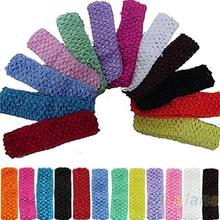 Hot 12pcs Cute Crochet Headbands Hair Head Band Bow Kid Baby Girl Accessories 06LA 7EVY