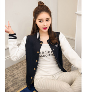 Image 4 - ฤดูใบไม้ร่วงเบสบอล BOMBER แจ็คเก็ตสตรี Windbreaker เสื้อกันหนาว Harajuku Streetwear Coat Casaco Feminino chaqueta mujer jaqueta