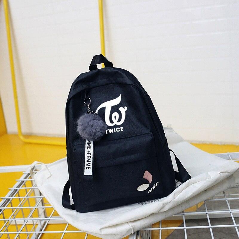 um pacote de saco feminino para adolescentes meninas ateez