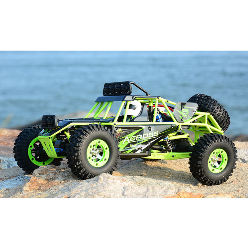 Hight Quality and High Speed Race Cars Four-wheel Drive High-speed Electric Remote Control Off-road Vehicle 1:12 Full-scale R top high speed full teeth piston