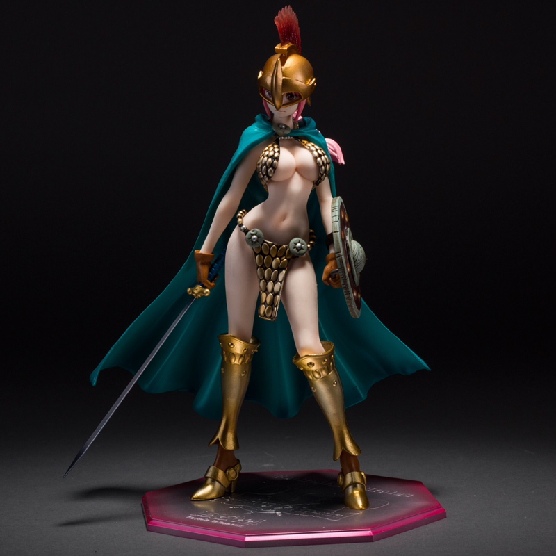 Japanese Anime One Piece P.O.P 23CM Rebecca PVC Action Figure Sexy Can Cast Off Collectible Model Toys without box