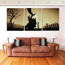 No Framed 3 Piece Abstract Modern Home Wall Decor painting Canvas Art HD Picture Paint on Canvas Prints Gift(China)