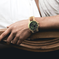 BOBO BIRD Handmade Luxury Watch With Nature Wooden Quartz With Double Scale Wooden Strap Relogio Drop Shipping B O25