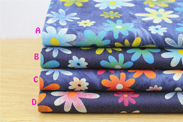 140 * 50cm1pc bun Denim 100% bumbac Fabric moale Stretch Denim Fabric - Arte, meșteșuguri și cusut - Fotografie 5