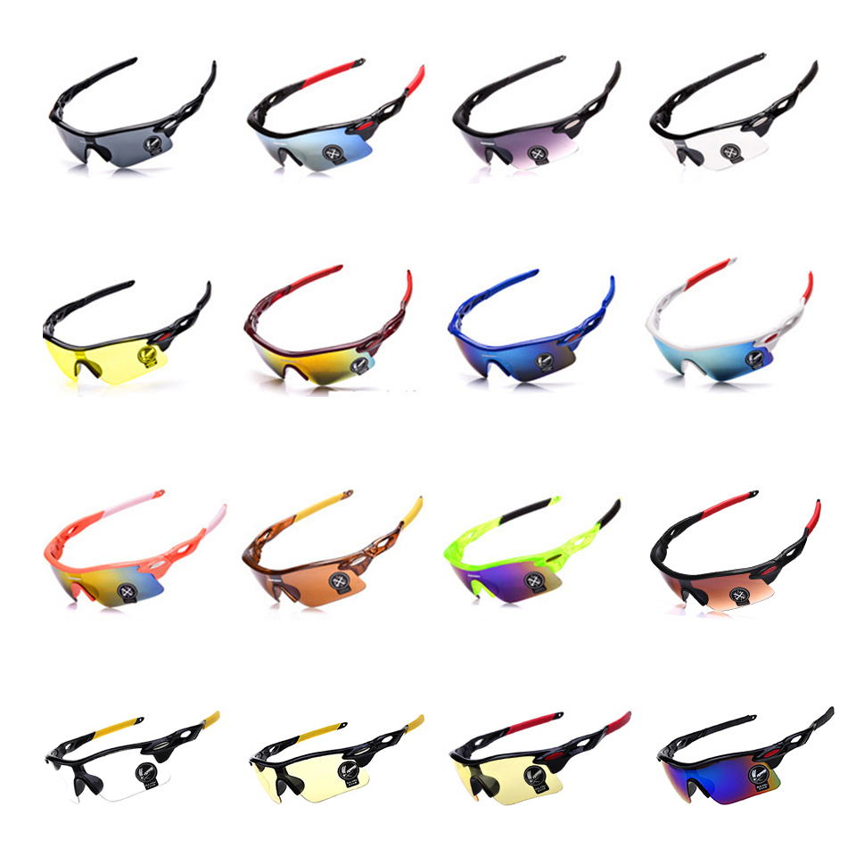 AIELBRO Outdoor Men Sunglasses Road Cycling Glasses Mountain Bike Bicycle Riding Protection Goggles Eyewear Sun Glasses Goggles