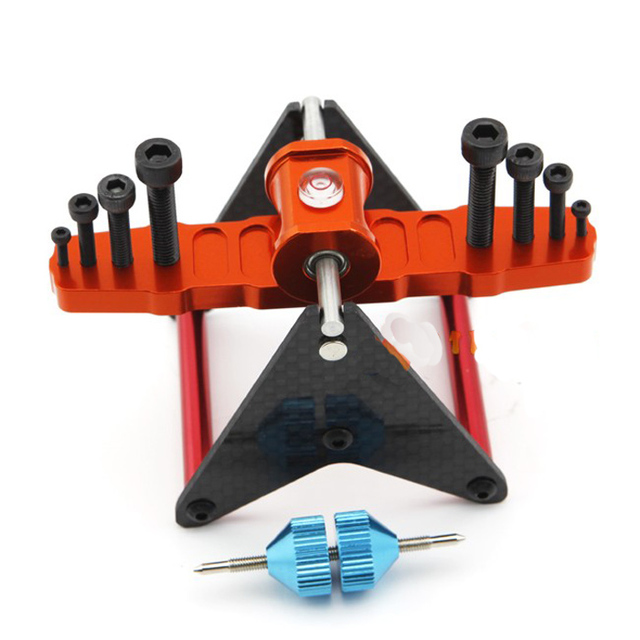 Multifunction Carbon Fiber Magnetic Propeller Balancer Props CW CCW Prop 2-5MM for 250-700 RC Airplane Multicopter FPV F06881