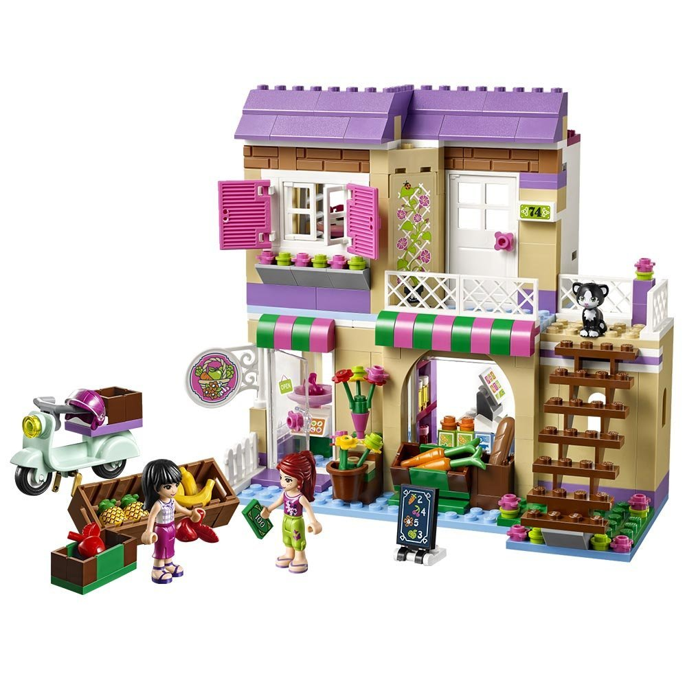 BELA Mates Sequence Heartlake Meals Market Constructing Blocks Basic For Lady Youngsters Mannequin Toys Minifigures Marvel Appropriate Legoe