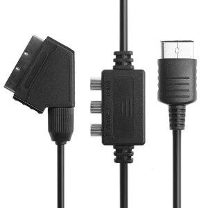 OOTDTY RGB Scart TV Lead DC Console Cable Cord с av-адаптером для Sega Dreamcast