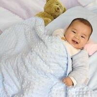 Super Soft Baby Blanket Newborn Thermal Soft Fleece Blanket Swaddling Bedding Set 10 12 Months Faux