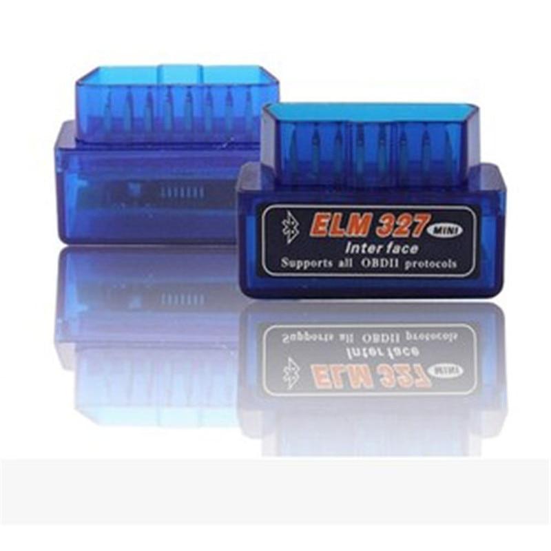 Prix pour Super Mini Elm327 V1.5 Bluetooth Auto OBD2 V1.5 Android Adaptateur Voiture Scanner OBD 2 Elm327 OBDII Outil De Diagnostic De Voiture-détecteur