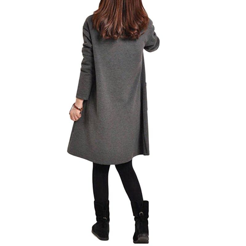 HTB1l3hHQpXXXXcBaXXXq6xXFXXXl - 2018 Autumn Dress Women Winter Long Sleeve Pocket Dress Solid O Neck Casual Loose Party Dresses Fashion Vestidos Plus Size S-5XL