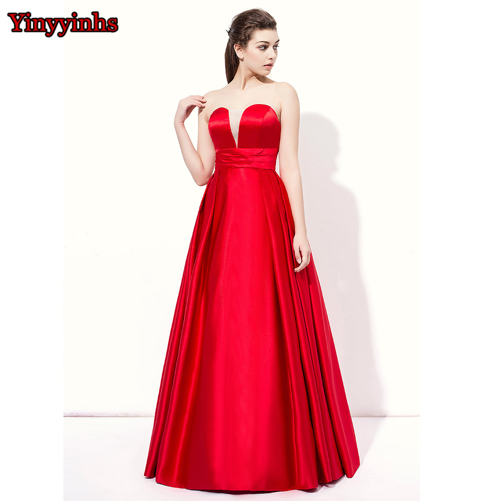 66da3bd86f Yinyyinhs Vintage Strapless Long Winter Wedding Party Guest Long ...
