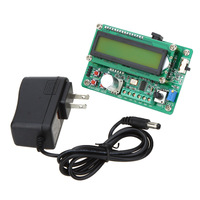 US Plug Multi Functional DDS Function Generator Signal Generator Source Module 60MHz Frequency Counter