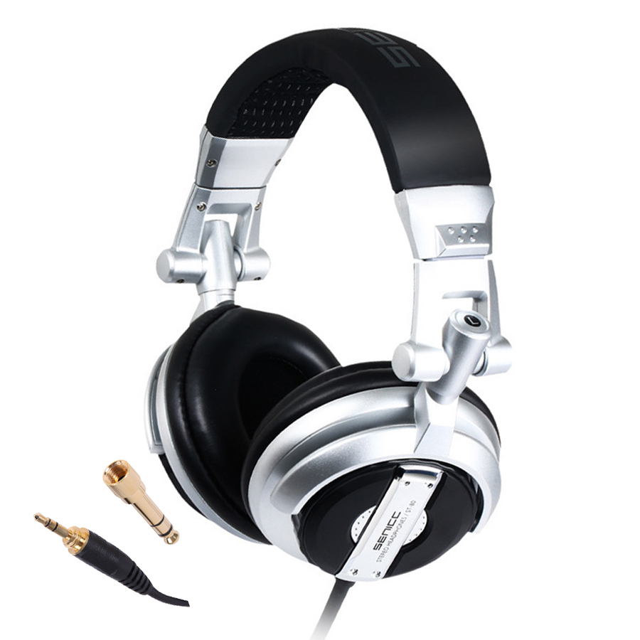 Super Bass DJ Headphone Foldable ST-80 Professional Monitor Music Hifi Subwoofer Enhanced Noise-Isolating And cell Phone Headset superlux hd669 professional studio standard monitoring headphones auriculares noise isolating game headphone sports earphones