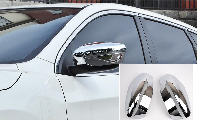 fit For Nissan Qashqai J11 ABS Chrome Door Side Mirror Cover Trim Rear View Cap Overlay Molding Garnish 2014 2015 2016 2017