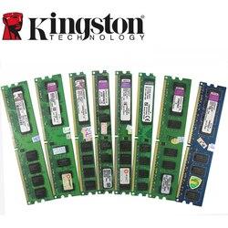 Kingston Desktop PC Memory RAM Memoria Module DDR2 800 667 MHz PC2 6400 1GB 2GB 4GB 8GB 16GB  DDR3 1333 1600 MHz PC3-12800 10600